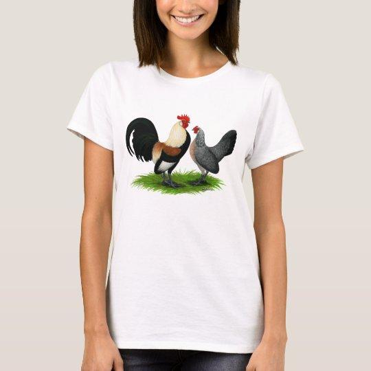 Dutch Bantams:  Cream Light Brown T-Shirt