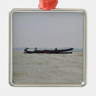 Dutch Barge Christmas Ornament