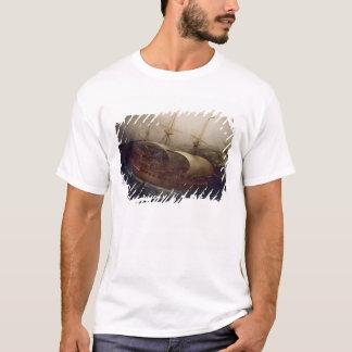 Dutch Battleship in a Storm T-Shirt