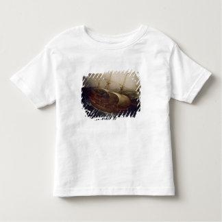 Dutch Battleship in a Storm Toddler T-shirt