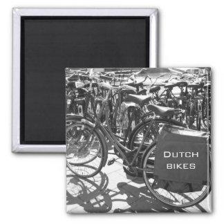 Dutch Bikes photo magnet