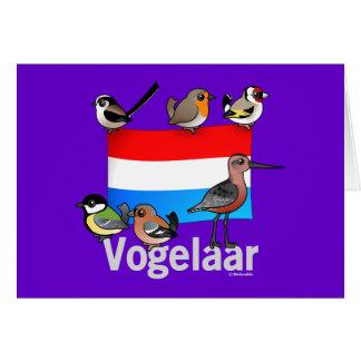 Dutch Birder: Vogelaar Greeting Card
