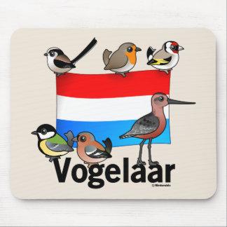 Dutch Birder: Vogelaar Mouse Pad