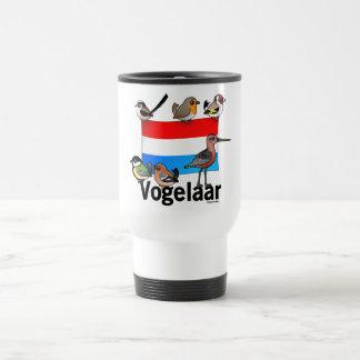 Dutch Birder: Vogelaar 15 Oz Stainless Steel Travel Mug