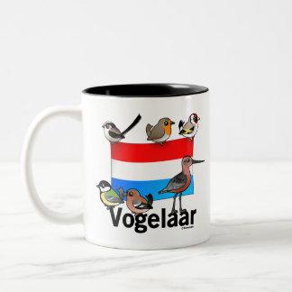 Dutch Birder: Vogelaar Two-Tone Coffee Mug