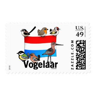 Dutch Birder: Vogelaar Stamps