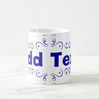 Dutch Blue Add Text Ceramic Mug
