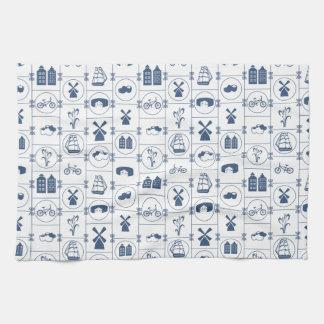 Dutch Blue tiles Towels