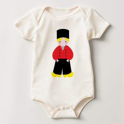 Dutch boy baby bodysuits