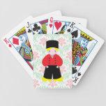 Dutch boy bicycle playing cards