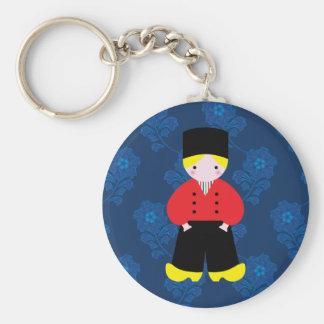 Dutch boy keychain