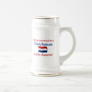 Dutch Builds Character Beer Stein