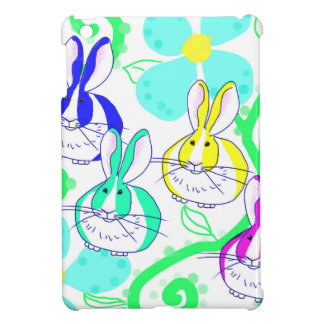 Dutch bunnies in the flowers case for the iPad mini