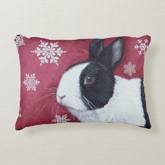 Dutch Bunny Christmas Pillow