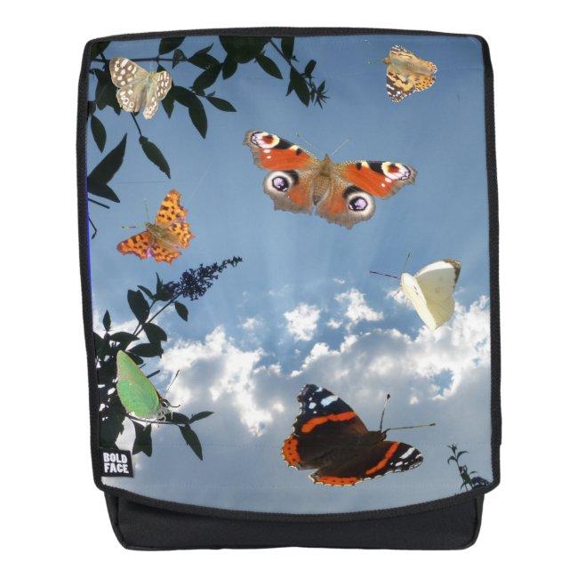 Dutch Butterflies Adult Backpack
