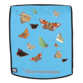 Dutch Butterflies Customizable Backback Face Backpack