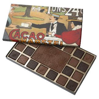 Dutch Cacao Ad 1897 45 Piece Box Of Chocolates