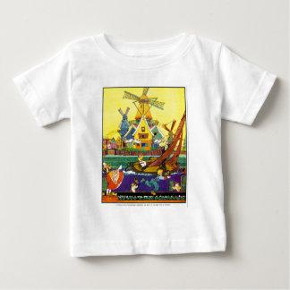 Dutch Canal Windmill Shirt