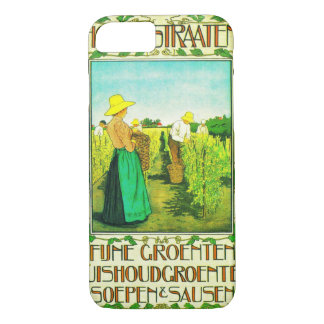 Dutch Canned Foods Ad 1899 iPhone 8/7 Case