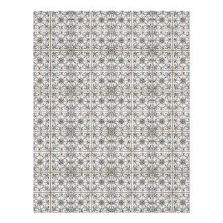 Dutch Ceramic Tiles 2 Letterhead Design