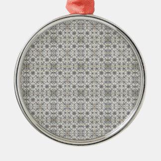 Dutch Ceramic Tiles 2 Metal Ornament