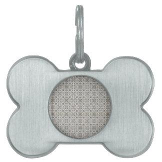 Dutch Ceramic Tiles 2 Pet Tag