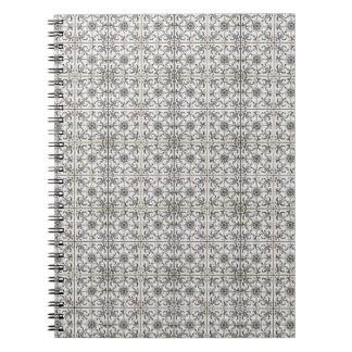 Dutch Ceramic Tiles 2 Spiral Note Books