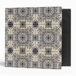 Dutch Ceramic Tiles 3 Alternate 3 Ring Binder