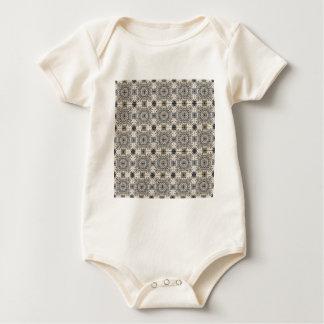 Dutch Ceramic Tiles 3 Baby Bodysuit