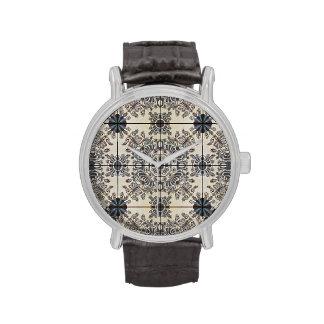 Dutch Ceramic Tiles 3 Large Watches