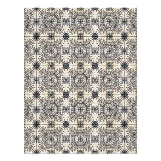 Dutch Ceramic Tiles 3 Personalized Letterhead