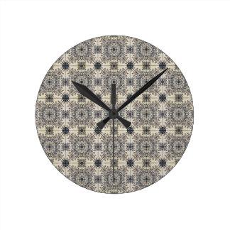 Dutch Ceramic Tiles 3 Round Clock