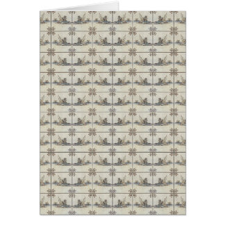 Dutch Ceramic Tiles 4 Card