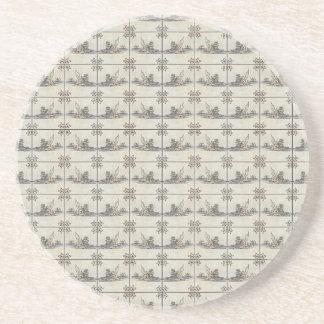 Dutch Ceramic Tiles 4 Coasters
