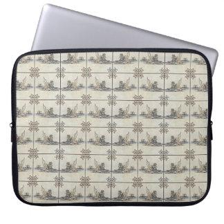 Dutch Ceramic Tiles 4 Computer Sleeve