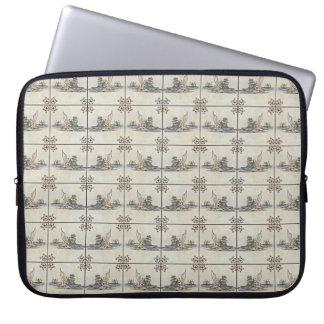 Dutch Ceramic Tiles 4 Laptop Sleeve