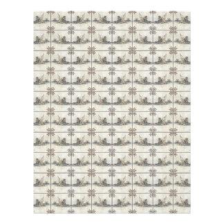 Dutch Ceramic Tiles 4 Letterhead Design
