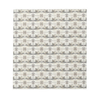 Dutch Ceramic Tiles 4 Memo Notepads