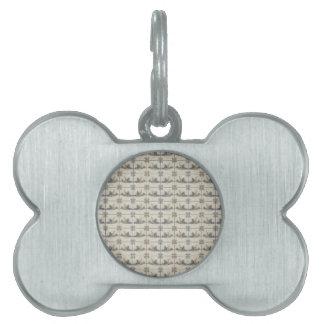 Dutch Ceramic Tiles 4 Pet Name Tags