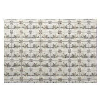 Dutch Ceramic Tiles 4 Placemat