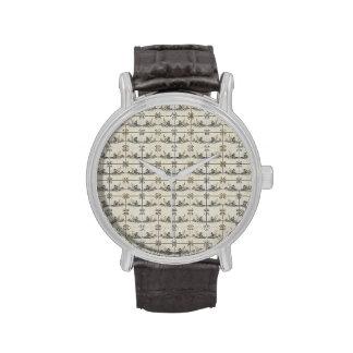 Dutch Ceramic Tiles 4 Wrist Watches