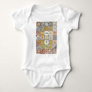 Dutch Ceramic Tiles Baby Bodysuit