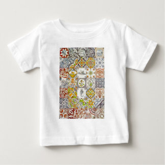 Dutch Ceramic Tiles Baby T-Shirt