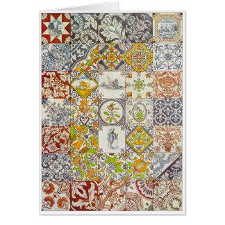 Dutch Ceramic Tiles Card