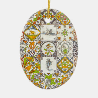 Dutch Ceramic Tiles Ceramic Ornament