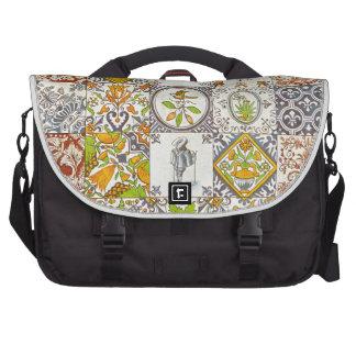 Dutch Ceramic Tiles Commuter Bags