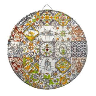 Dutch Ceramic Tiles Dartboards
