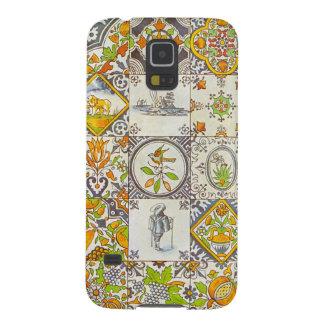 Dutch Ceramic Tiles Galaxy S5 Covers