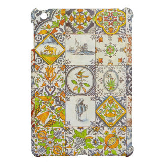 Dutch Ceramic Tiles iPad Mini Cases