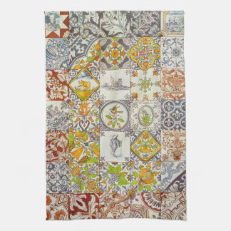 Dutch Ceramic Tiles Kitchen Towel